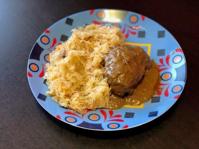 danie zgodne z dietą montignaca, pierwsza faza, poliki wieprzowe