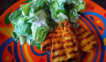 dieta montignaca, pierwsza faza, drób w curry, tłuszczowy posiłek